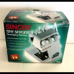 Other - As See. On TV serger!